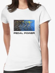 Pedal Power Womens Fitted T-Shirt