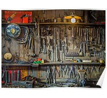 Vintage Tools Workshop Poster