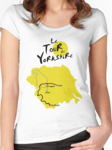 Tour de Yorkshire Women's Fitted Scoop T-Shirt