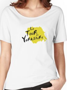 Le Tour de Yorkshire 3 Women's Relaxed Fit T-Shirt