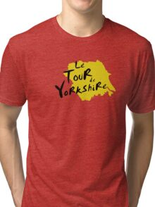 Le Tour de Yorkshire 3 Tri-blend T-Shirt
