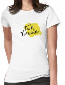 Le Tour de Yorkshire 3 Womens Fitted T-Shirt