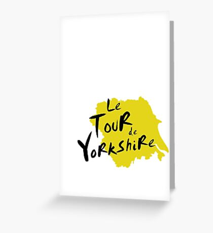 Le Tour de Yorkshire 3 Greeting Card