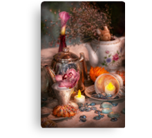 Tea Party - I would love to have some tea  Canvas Print