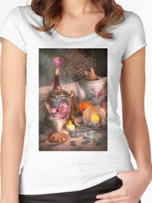 Tea Party - I would love to have some tea  Women's Fitted Scoop T-Shirt