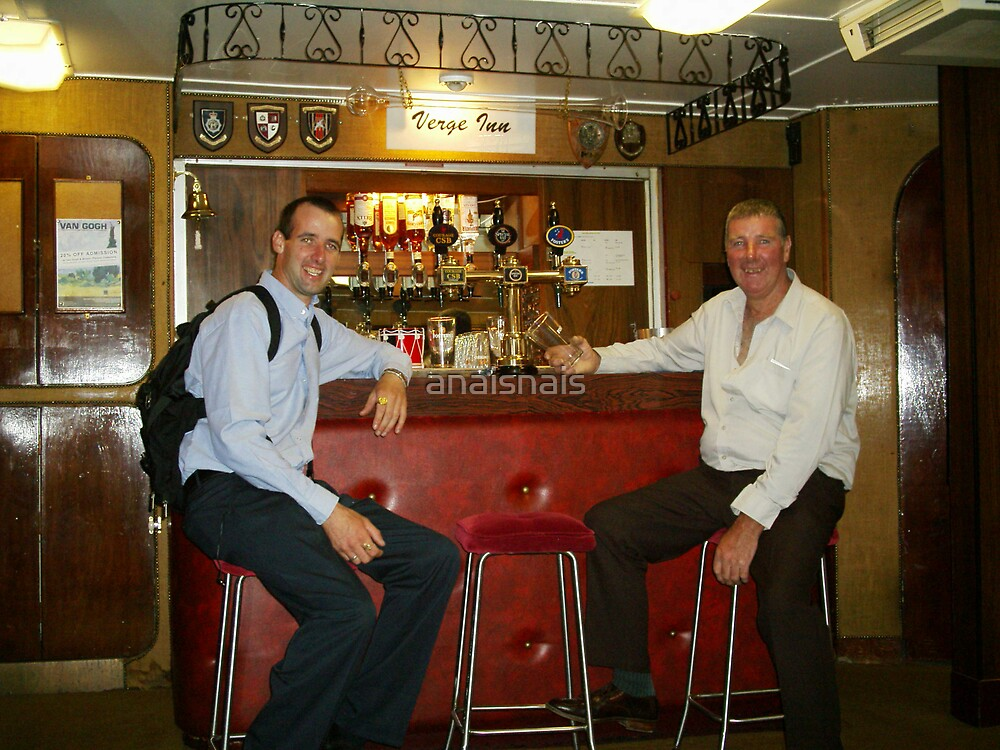 On The Royal Yacht Britannia - Bottoms Up by anaisnais