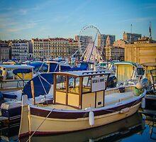 Marseille Harbor by mrdoomits