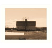 Farmlands Art Print