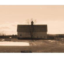 Farmlands Photographic Print