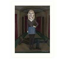 Welcome to the Hellmouth - Darla  Art Print
