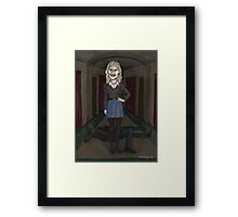 Welcome to the Hellmouth - Darla  Framed Print