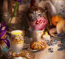 Tea Party - The magic of a tea party  by Mike  Savad