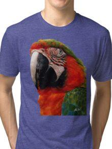 Parrot Head Tri-blend T-Shirt