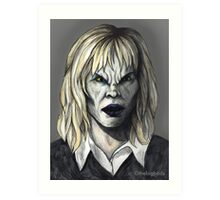Welcome to the Hellmouth - Darla II Art Print