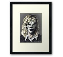 Welcome to the Hellmouth - Darla II Framed Print