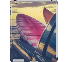 Retro Surf Boards In Truck iPad Case/Skin