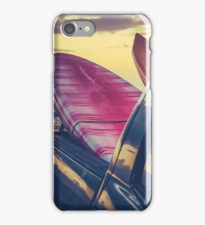 Retro Surf Boards In Truck iPhone Case/Skin