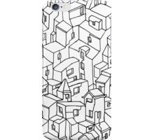 Endless One Line City iPhone Case/Skin