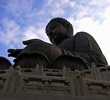 giant buddha by mohkai