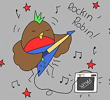 Rockin' Robin by RedPandonite