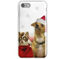 Christmas Chihuahua Dogs iPhone Case/Skin
