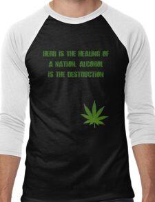 Herb is the Healing of a Nation Men's Baseball ¾ T-Shirt