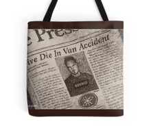 Never Kill A Boy on the First Date - BtVS Tote Bag
