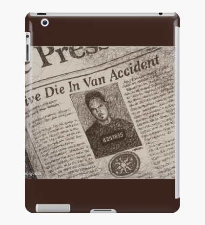 Never Kill A Boy on the First Date - BtVS iPad Case/Skin