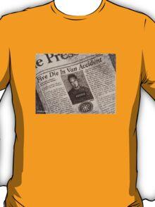 Never Kill A Boy on the First Date - BtVS T-Shirt
