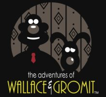 Wallace and Gromit by JRBERGER