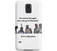 King Arthur - Camelot is a Silly Place Samsung Galaxy Case/Skin