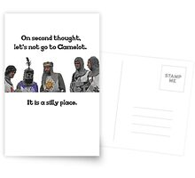 King Arthur - Camelot is a Silly Place Greeting Card