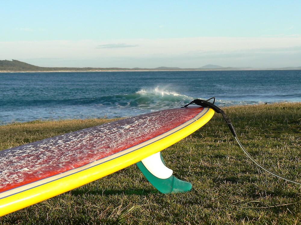 Colourful longboard by Oceans7