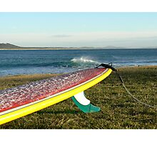 Colourful longboard Photographic Print