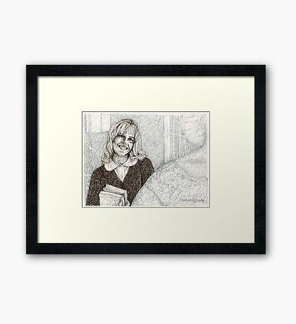 Angel - Darla III - BtVS Framed Print