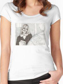 Angel - Darla III - BtVS Women's Fitted Scoop T-Shirt