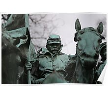 Cavalry Group Soldier Poster
