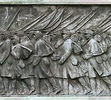 Grant Statue Relief by Brad Staggs