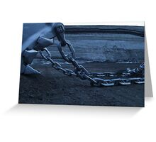 Don't pull my chain!! Greeting Card