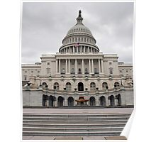 U.S. Capital Building Close-Up Poster