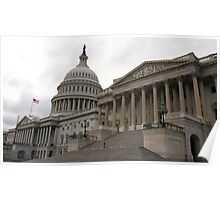 U.S. Capital Building East Poster