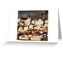 spice vendor, marseilles, France Greeting Card