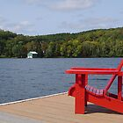 Muskoka chair, Canada by chadg
