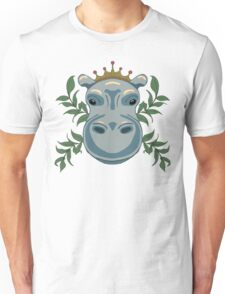 King Hippo Unisex T-Shirt