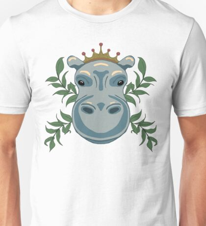 King Hippo Unisex T-Shirt