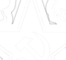 B&W Communism Sticker