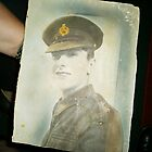 Old family military photograph - Great Uncle John Campsie - Edinburgh by anaisnais