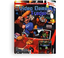 VGT Issue #28 (Spring 2014) Cover Canvas Print