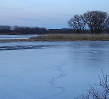 Mohawk River in March by jenndes