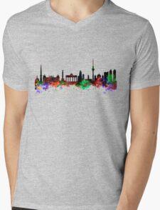 Berlin Brandenburg Gate Mens V-Neck T-Shirt